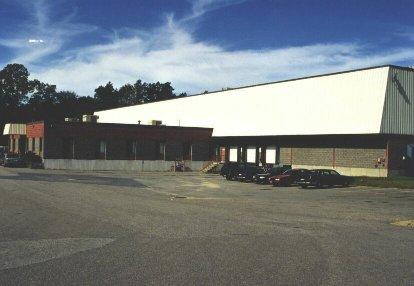 Industrial Freezer Building