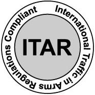 ITAR compliant.