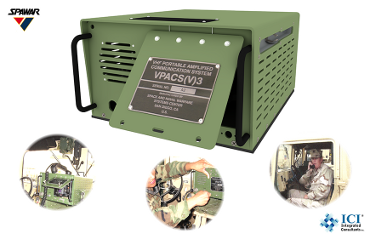 VHF Portable Amplified Communications System