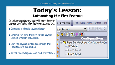 Automating the Flex Feature