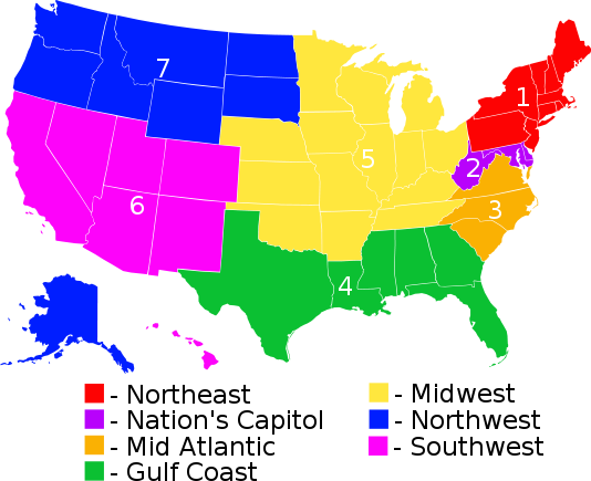 State Zones